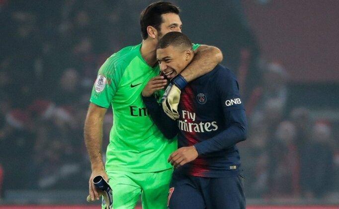 Buffon: 'Mbappe'nin dede olarak görmesi normal'