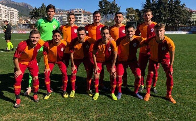 Galatasaray U21, ilk derbide Trabzonspor'u devirdi!