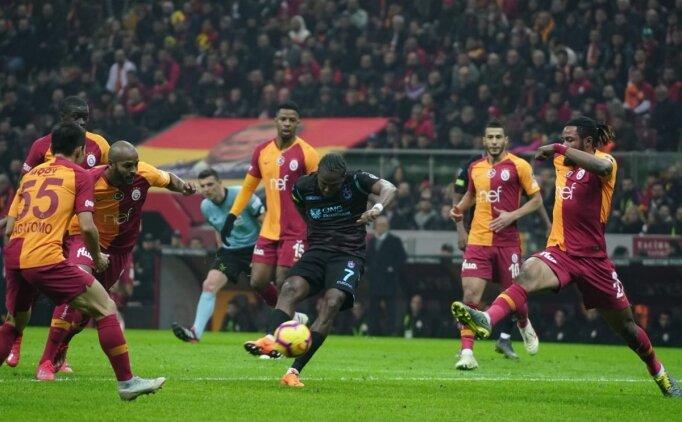 Trabzonspor büyüklere ilk kez mağlup oldu
