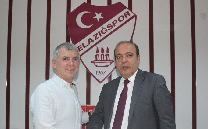Elazığspor'da yeni teknik direktör belli oldu