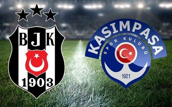 BJK maçı özet izle, Beşiktaş Kasımpaşa maçı kaç kaç bitti?