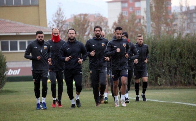 Kayserispor, Beşiktaş maçı hazırlıklarını sürdürdü
