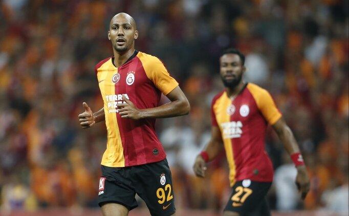 Galatasaray'da Steven Nzonzi siftah yaptı!