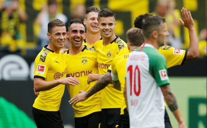 Dortmund, Alcacer'le fırtına gibi başladı!