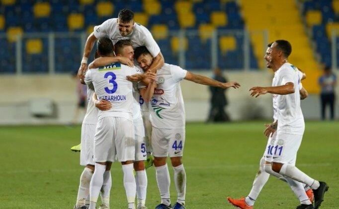 Çaykur Rizespor, Ankara'da sezona 3 puanla başladı!