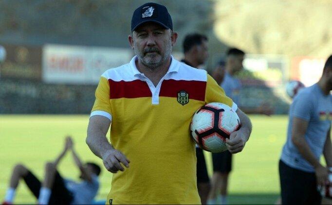 Sergen Yalçın: 'Galatasaray maçını kazanmak istiyoruz'