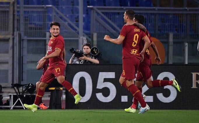 Cengiz ve Kolarov attı, Roma'ya yetmedi!