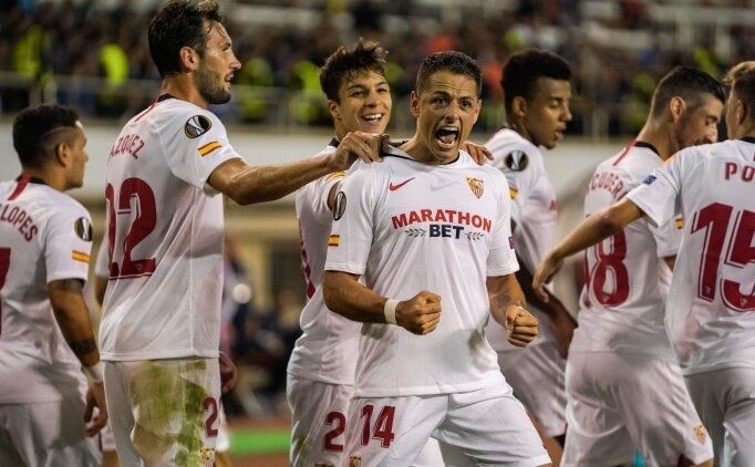 Sevilla, Azerbaycan'da ikinci yarıda güldü