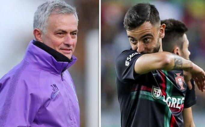 Mourinho: 'Bruno Fernandes'i alamayız'