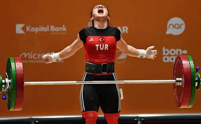 Milli halterci Şaziye Erdoğan, dünya şampiyonu!