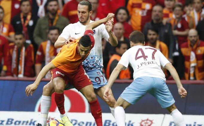 Galatasaray-Trabzonspor! Muhtemel 11'ler