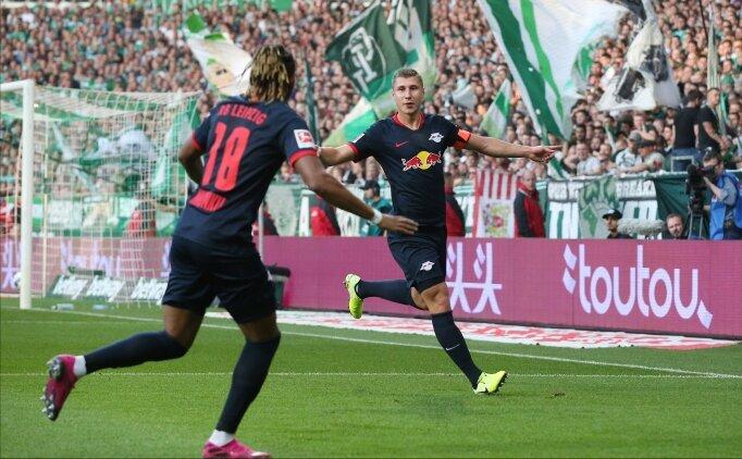 RB Leipzig, Bremen deplasmanında zorlanmadı!