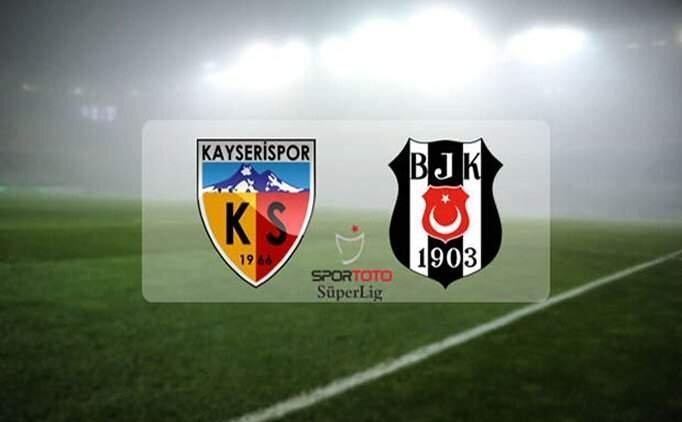 Kayserispor Beşiktaş maçı özet İZLE, (BJK) Beşiktaş maçı golleri izle