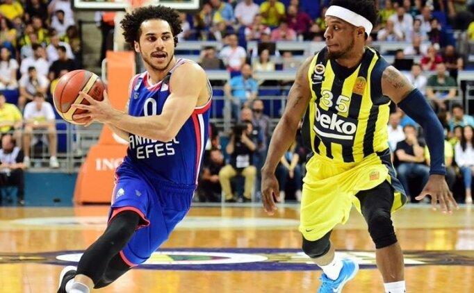 Bu kez ligde büyük heyecan: Anadolu Efes - Fenerbahçe Beko
