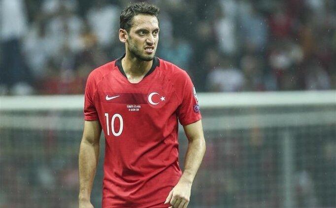 Hakan Çalhanoğlu: 'İnşallah hedef Wembley'