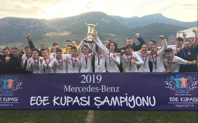 20. Mercedes-Benz Ege Kupası'nda şampiyon Türkiye