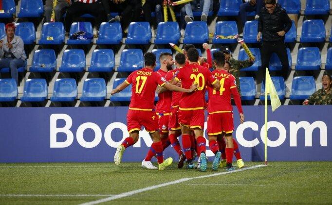 Andorra, 7 maç sonra güldü! 1-0...