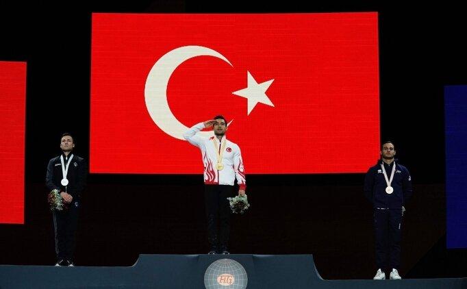 'Bu madalyayı şanlı Türk ordumuza armağan ediyorum'