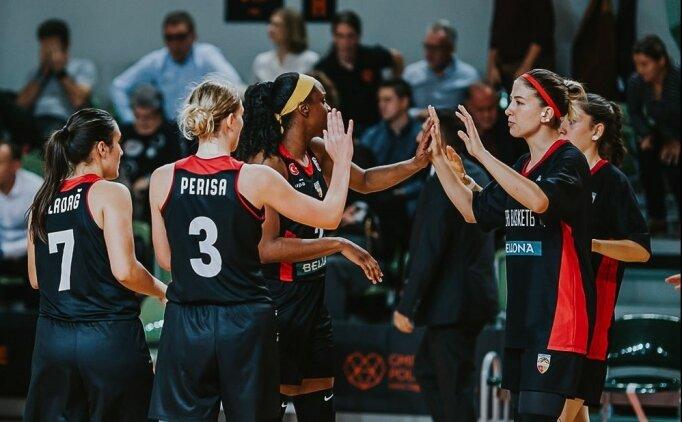 Bellona Kayseri Basketbol, Polkowice'yi son periyotta çözdü!