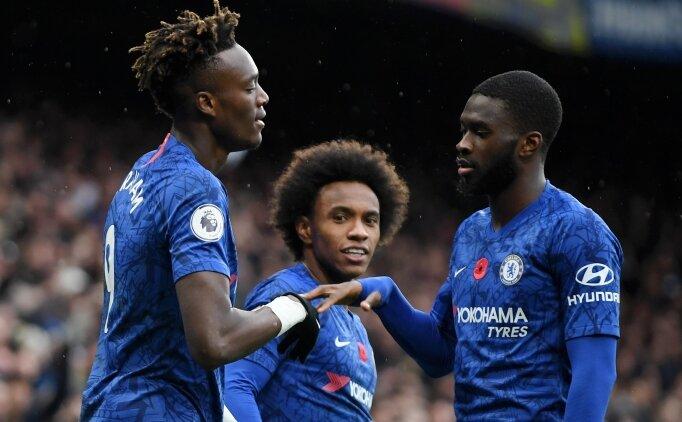 Abraham ve Pulisic, Chelsea'yi uçuruyor! Üst üste 6. maç...