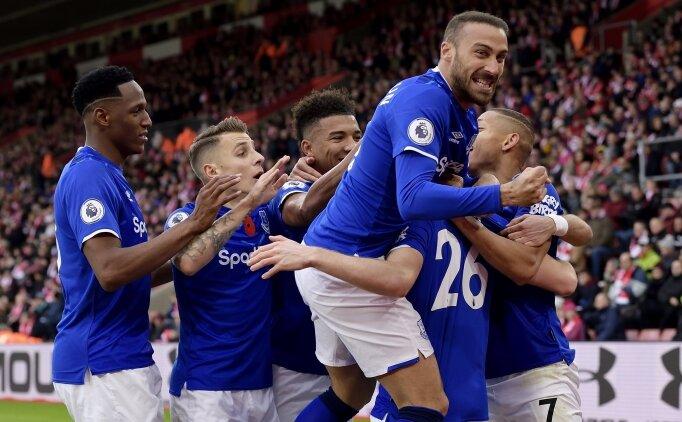 Cenk Tosun ilk kez 11'de çıktı, Everton 3 puanı kopardı