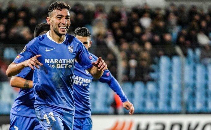 El Haddadi hat-trick yaptı, Sevilla farklı kazandı