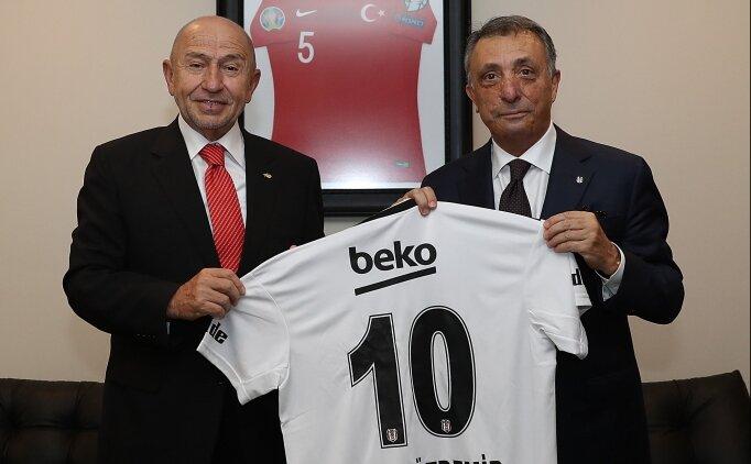 Ahmet Nur Çebi, Nihat Özdemir'i ziyaret etti