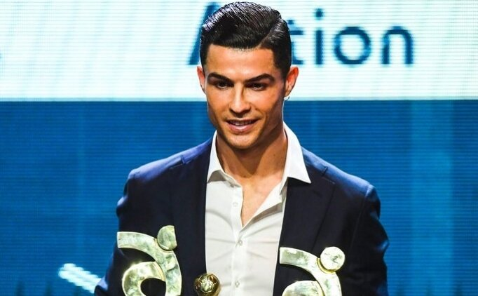 Ronaldo Serie A'da Yılın En İyisi seçildi