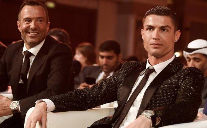 Jorge Mendes: 'Cristiano Ronaldo tarihin en iyisi, biliyorsunuz'