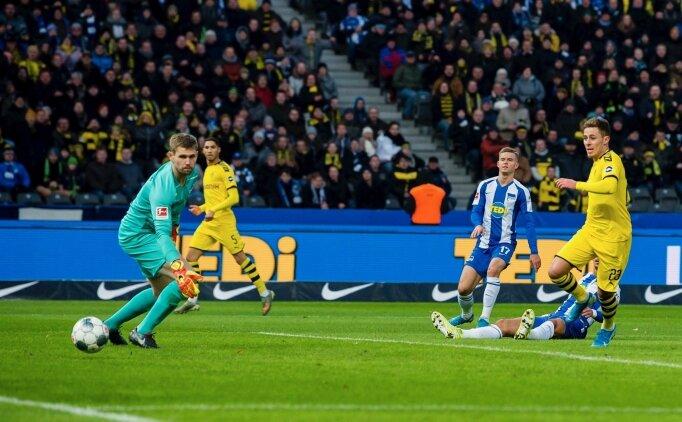 Dortmund, iki maç sonra güldü! 10 kişiyle...