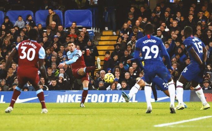 Chelsea'ye City'den sonra bir şok da West Ham'dan!