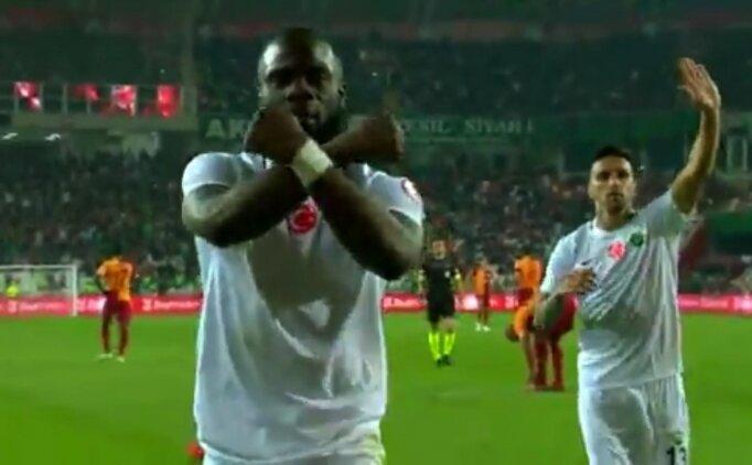 Akhisarspor'un golü sonrası olay!