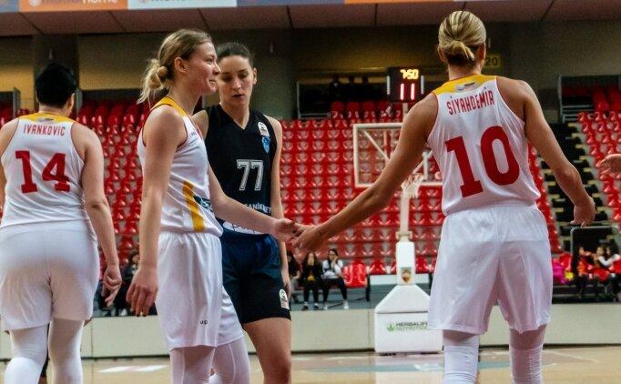 Kayseri Basketbol evinde 15 sayı fark attı