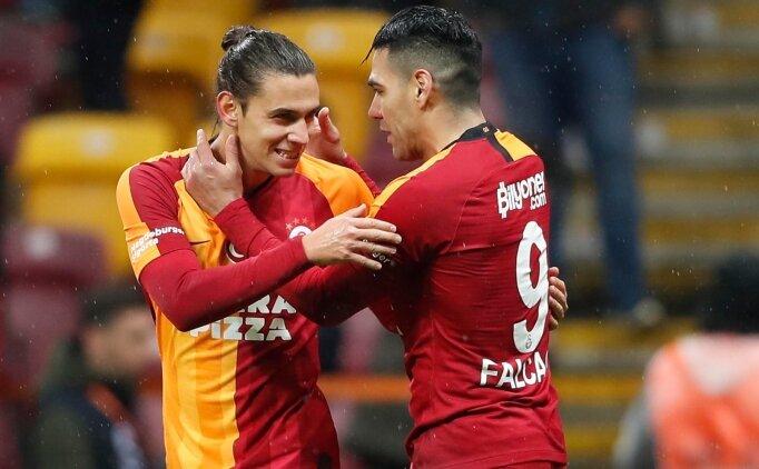 Galatasaray, ilk devreyi gol yağmuruyla kapattı!