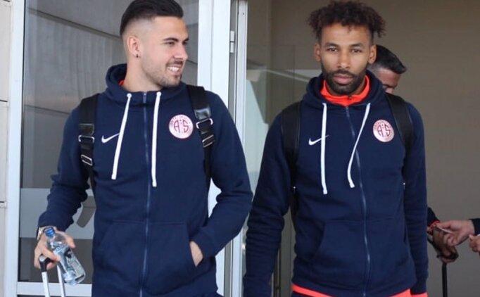 Antalyaspor'un Galatasaray kafilesinde 7 eksik