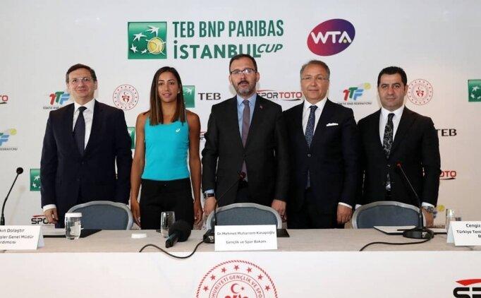 TEB BNP Paribas İstanbul Cup'a doğru