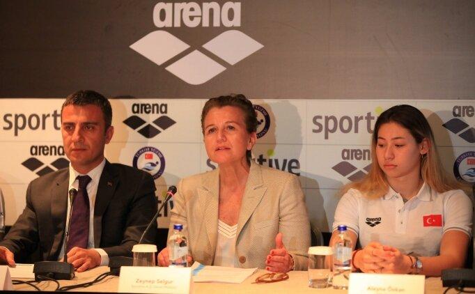 Sportive'in, Türkiye Yüzme Federasyonu ve Türkiye Milli Takımı'na olan desteği sürüyor