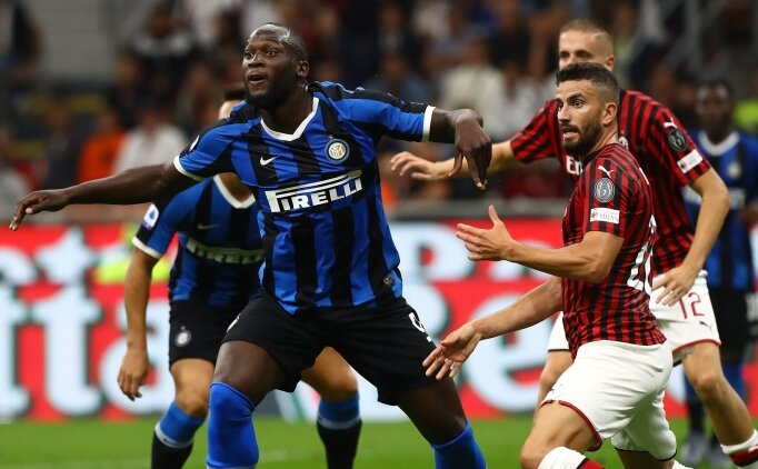 Inter, Milano derbisinde 2 golle güldü! Zirve...