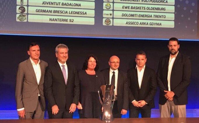 ULEB Avrupa Kupası'nda gruplar belli oldu!