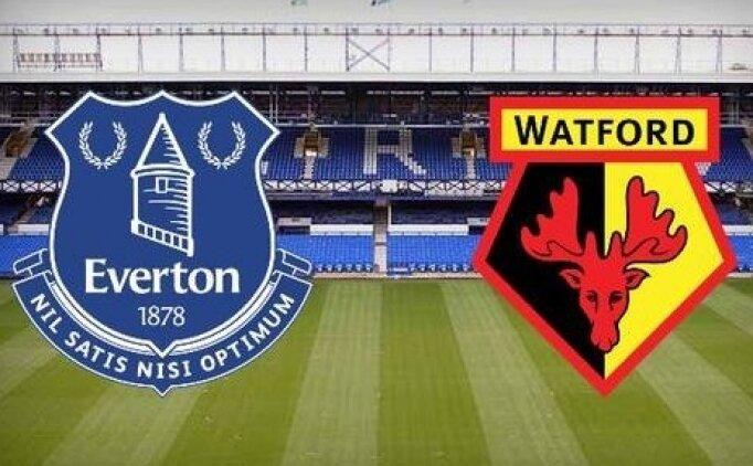 Watford Everton maçı canlı hangi kanalda? Watford Everton maçı saat kaçta?