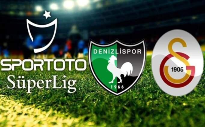GS maçı özet izle, Denizlispor Galatasaray maçı GOLLERİ ile
