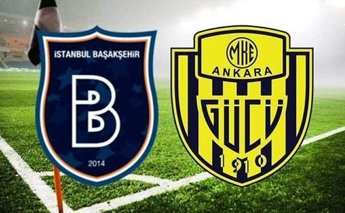 Başakşehir Ankaragücü maçı CANLI İZLE, Başakşehir maç şifresiz izle