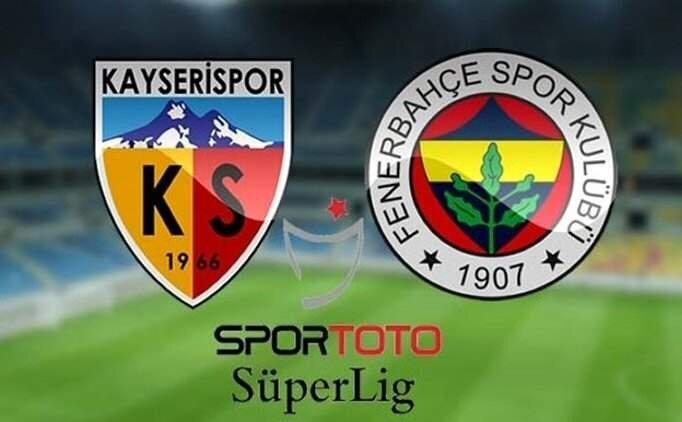 Kayserispor - Fenerbahçe maçı geniş özet izle (Golleri izle)