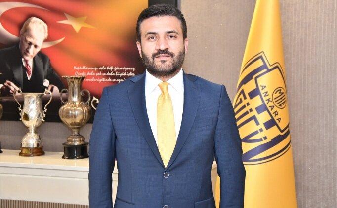 Ankaragücü'den TFF'ye tepki; 'Birilerine yardım'
