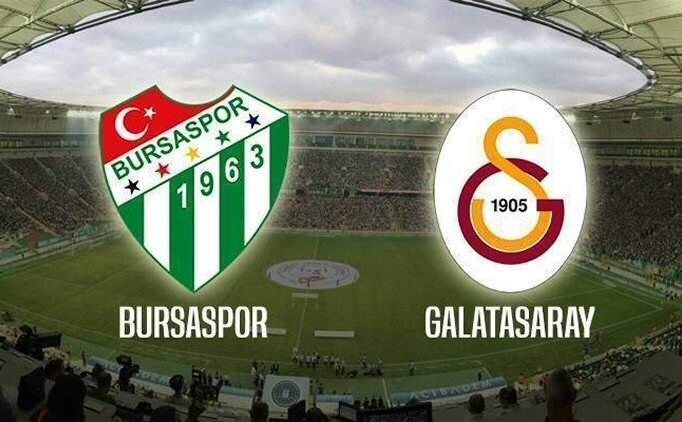 Bursaspor Galatasaray maçı özet ve golleri izle (bein sports)