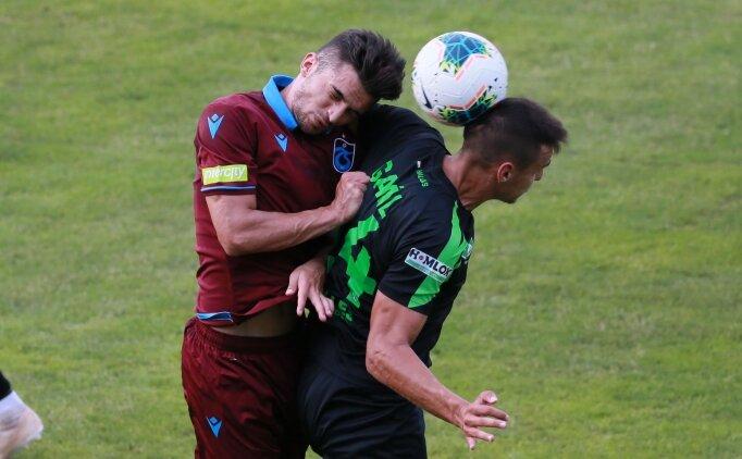 Trabzonspor, Szombathely ile yenişemedi