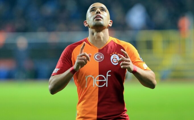 Galatasaray'ın kamp kadrosunda Feghouli sürprizi