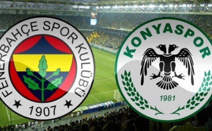 Fenerbahçe 1-1 Konyaspor maçı geniş özeti izle