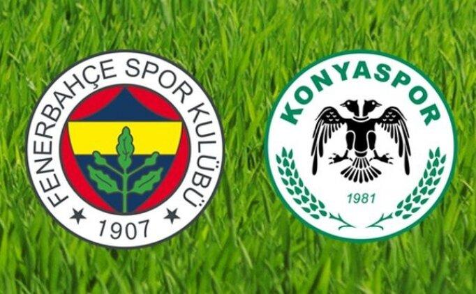 [SON DAKİKA] Fenerbahçe Konyaspor maçı özet görüntüleri izle