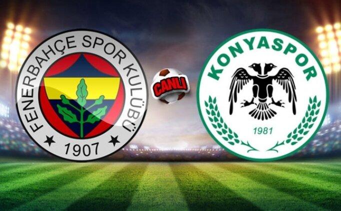Fenerbahçe 1-1 Konyaspor maçı, golleri izle